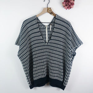 [FREE PEOPLE] Boxy Poncho Pullover Sweater